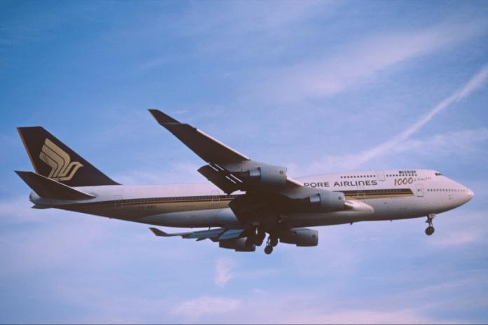 Singapore milésimo Boeing 747 1000th