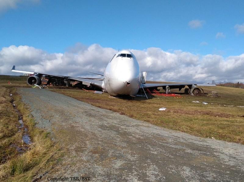 Acidente Boeing 747 SkyLease Halifax
