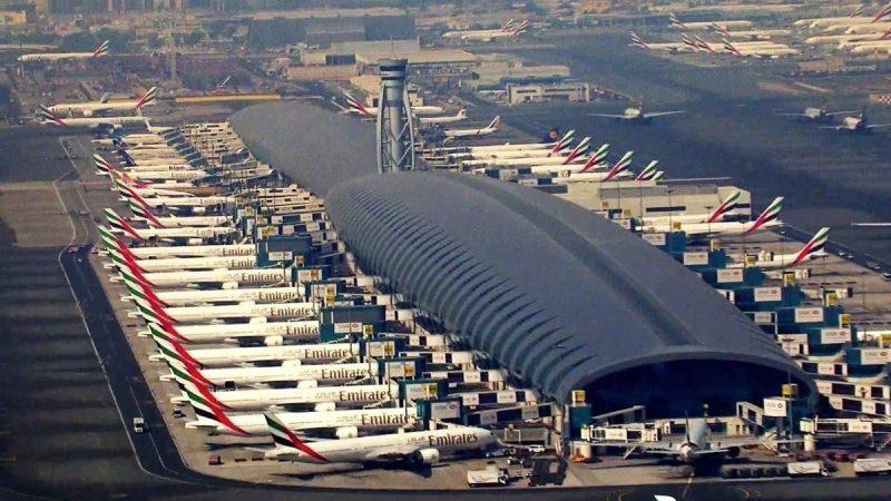 Dubai Aeroporto Drone
