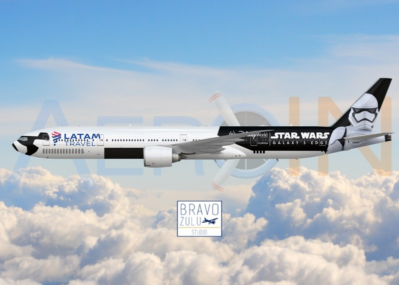 Boeing 777 Star Wars LATAM