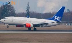 Avião Boeing 737 SAS