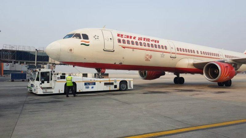 Avião Airbus A321 Air India
