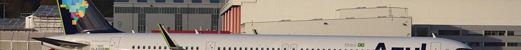 Avião Airbus A321neo Azul
