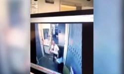 Vídeo agressão tripulante comissária Republic Denver