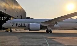 ZIPAIR Primeiro 787 Pintado