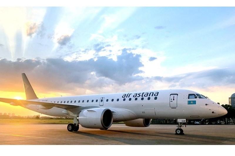 Avião Air Astana Embraer E190-E2