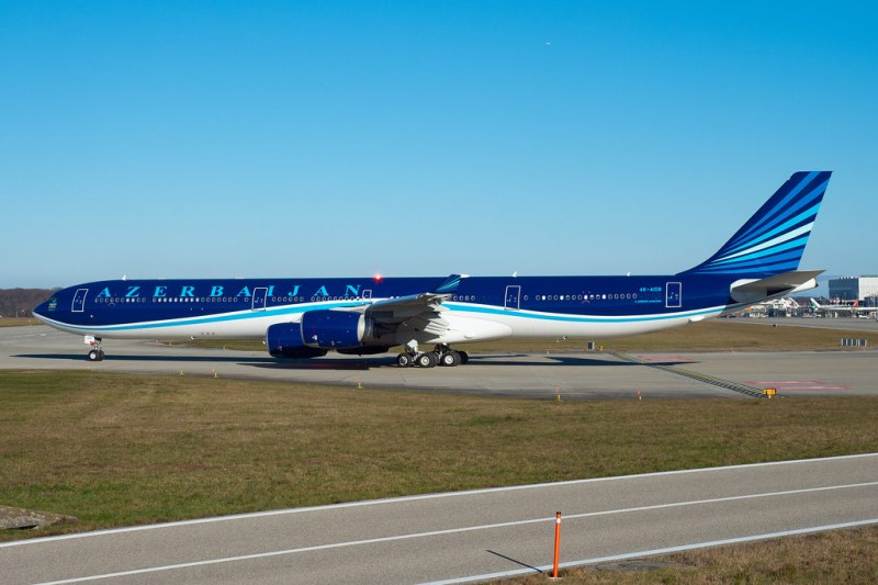 Markus Eigenheer Azerbaijan Airbus A340-600 4K-AI08