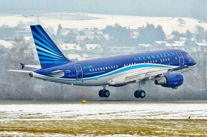 Schweiz Azerbaijan A319CJ 4K-8888