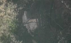 Destroços King Air C90GT Acidente Serra Cantareira