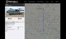 Flight Radar 24 Voo Entrega Segundo KC-390 FAB