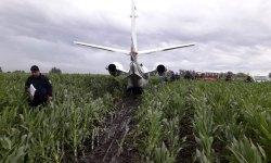Pouso Emergência Milharal Cessna Excel Argentina