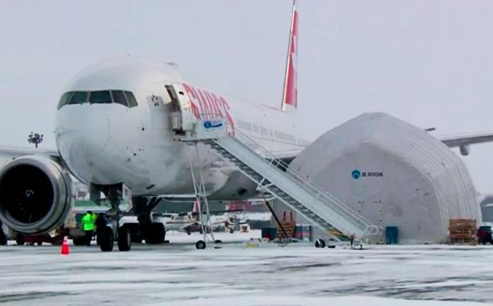 Troca Motor 777 Swiss Iqaluit 01