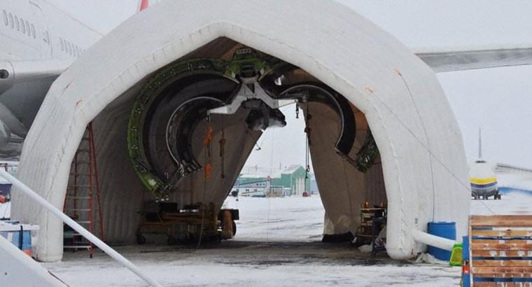 Troca Motor 777 Swiss Iqaluit