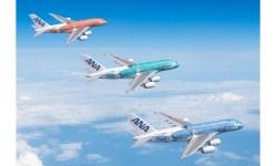 ANA All Nippon Airways Aviões Airbus A380 Flying Honu