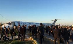 Acidente MD-83 Caspian Airlines Irã Passageiros na rua