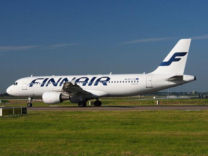 Avião Airbus A320 Finnair