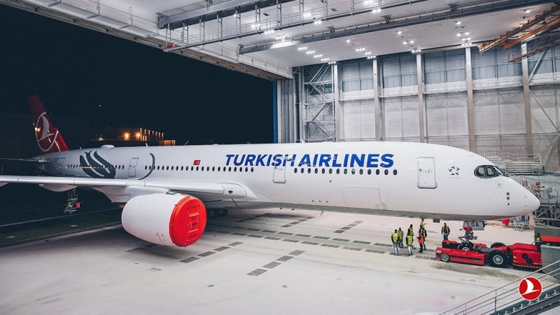 Airbus A350 Turkish