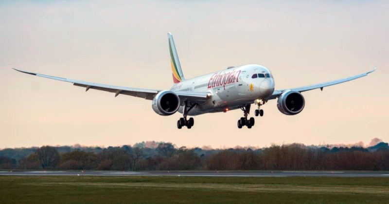 Boeing 787 Dreamliner Ethiopian