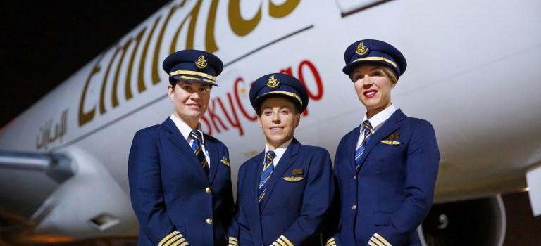 Emirates SkyCargo Mulheres Pilotos