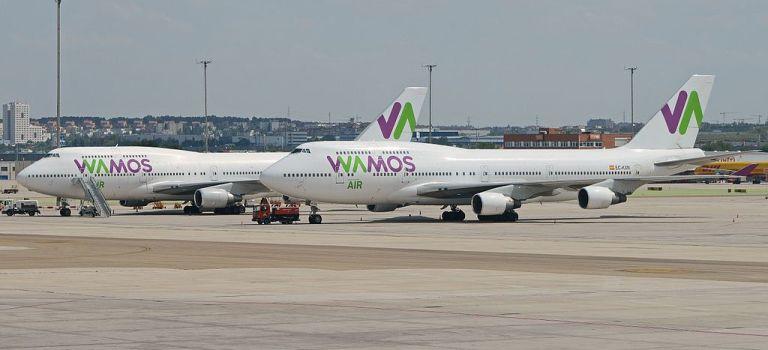 Avião Boeing 747-400 Wamos Air