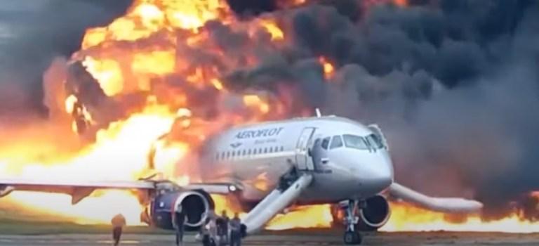 Vídeo Acidente Sukhoi Superjet SSJ100