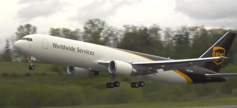 Vídeo print Boeing 767-300F UPS