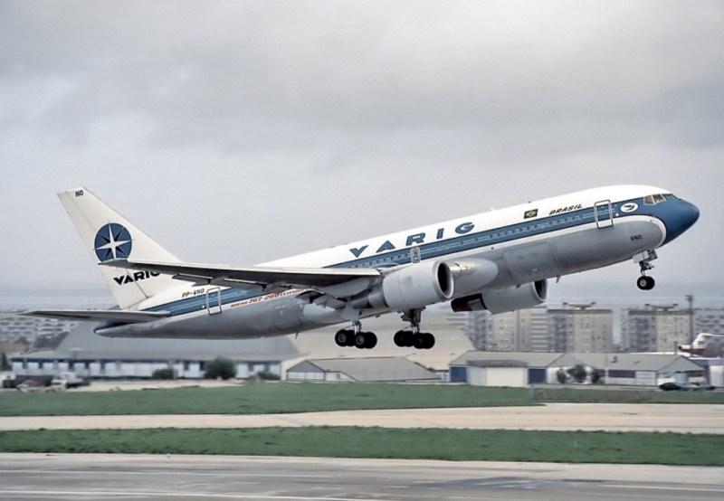 Avião Boeing 767-200ER Varig