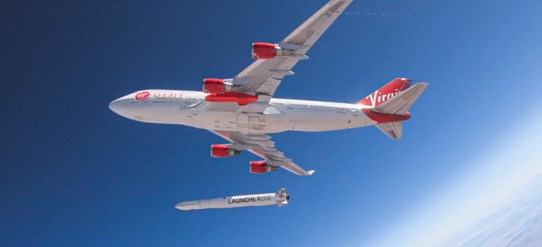 Virgin Orbit LauncherOne Cosmic Girl
