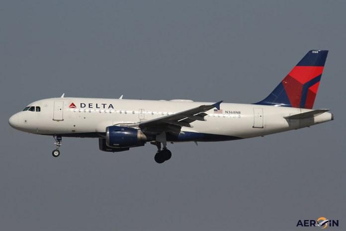 Avião Airbus A319 Delta Air Lines