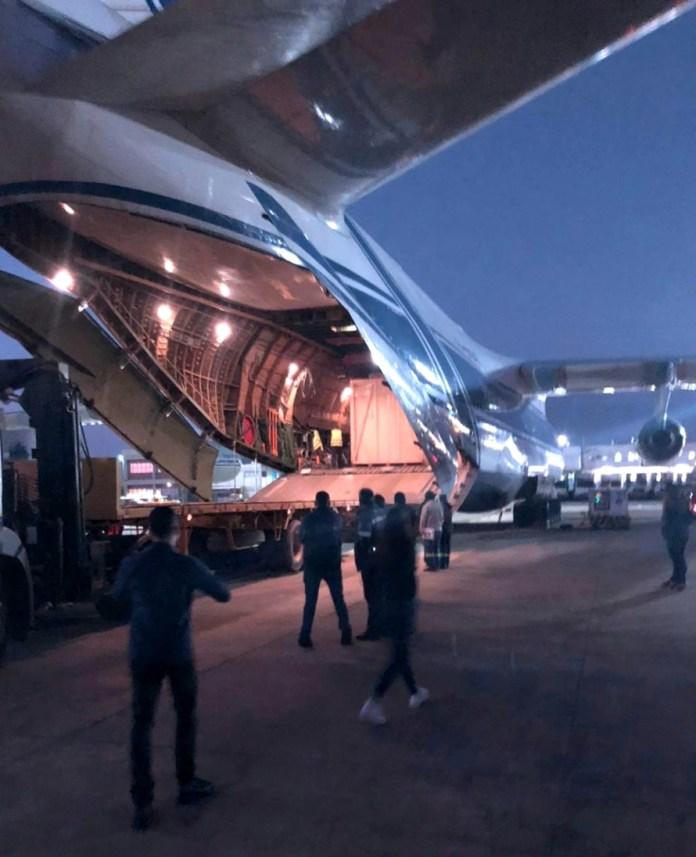 Antonov AN-124 Brasília