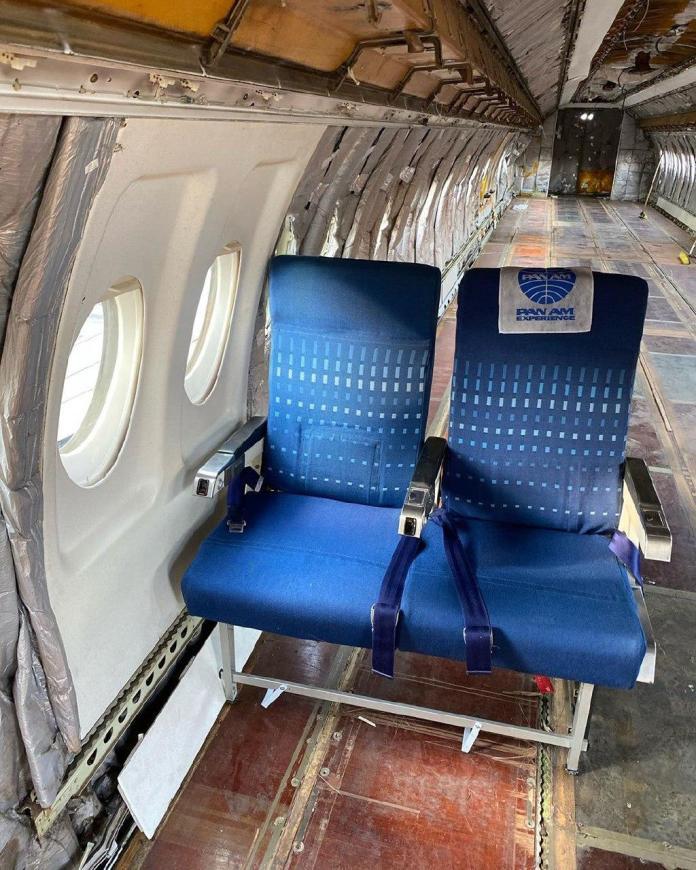 Interior Fokker 100 Pan Am Experience Brazil