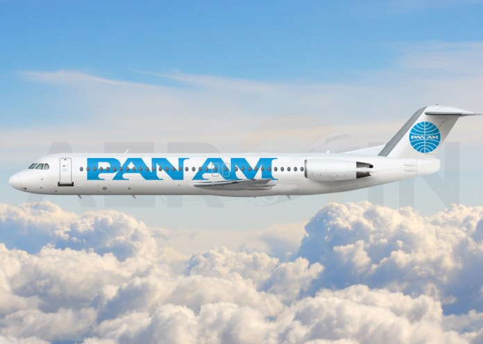 Fokker 100 Pan Am