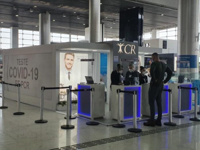 GRU Airport Laboratório Teste Covid
