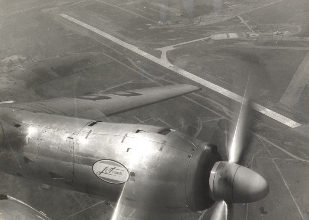 Vista Aérea Aeroporto Viracopos 1960