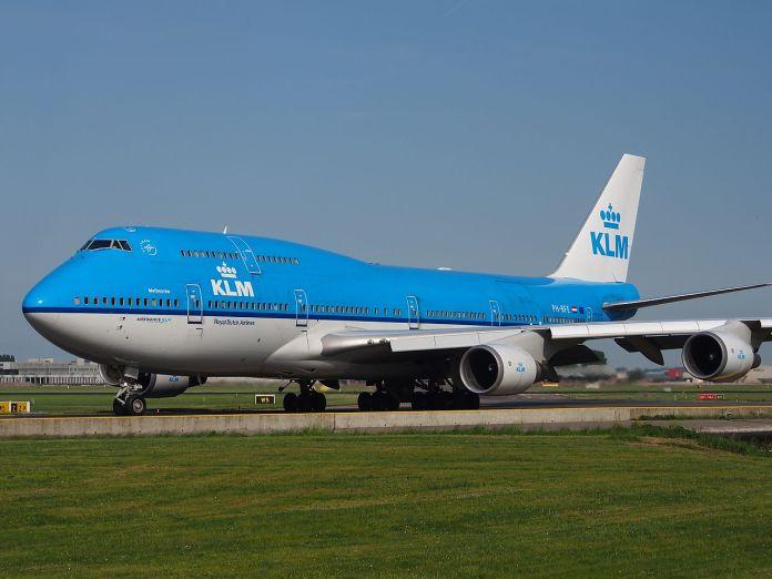 Avião Boeing 747-400M KLM