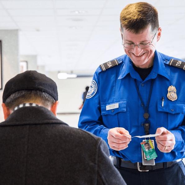 Agente TSA Aeroporto