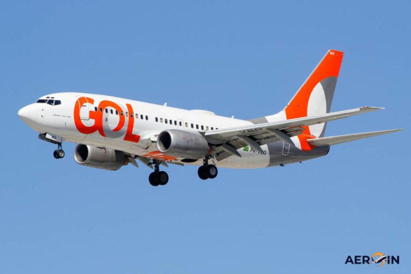 Airplane Boeing 737-700 Gol Linhas Aéreas