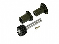 208381 - Front Drive Gear Set e Pulley Shaft w/Steel Gear