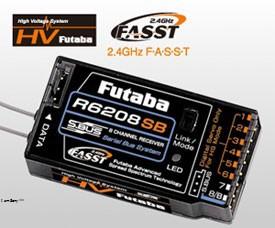 Futaba R6208SB (8ch.) 2.4GHZ BUS41