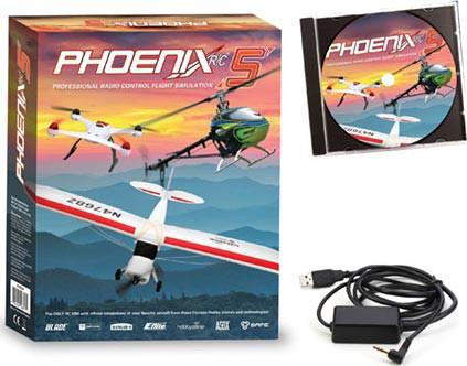 Simulador de voo Phoenix Flight Simulator V5