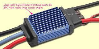 ALIGN - 100A Brusheless ESC (Governer Mode) RCE-BL100G