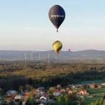 Nasi piloci balonowi na zawodach w Krośnie