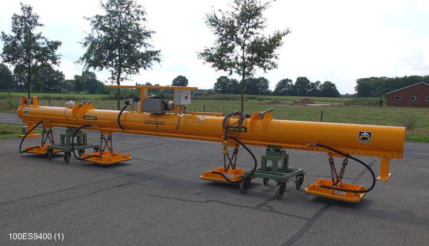 Vakuum Hebegerät für das handlen von Stahlplattern bis einer Kapazität von 10.000kg