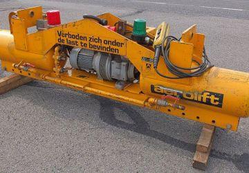 Elektrisch angetriebenen Vakuumheber aus dem Miete Bereich von Aerolift