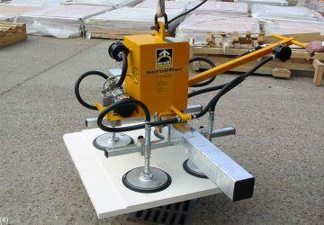 Met dit vacuüm heftoestel van Aerolift kunnen diverse materialen worden gehandled
