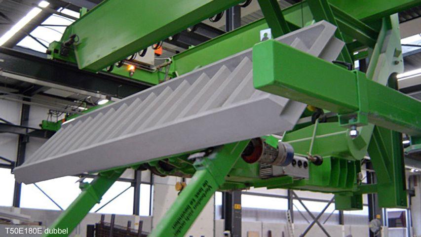Vacuüm heftoestel van Aerolift die elementen 180 graden kantelt