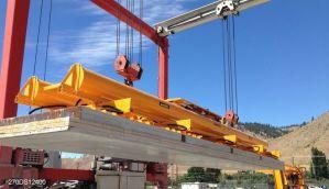 Vacuüm heftoestel van Aerolift voor het heffen van betonelementen