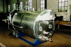 Low-pressure steam generator Aerolift