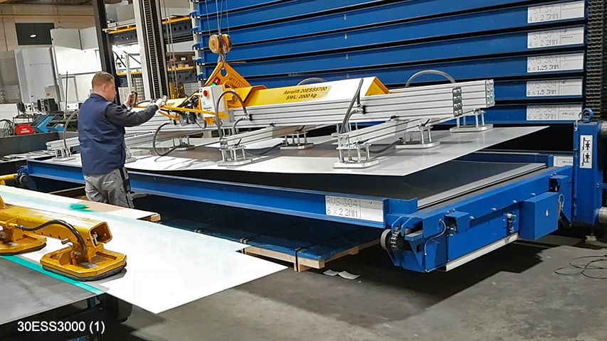 Aerolift basic design vacuum lifter