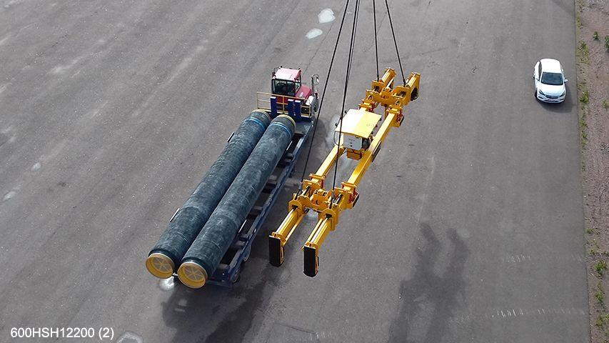 Aerolift lifting equipment without vacuum
